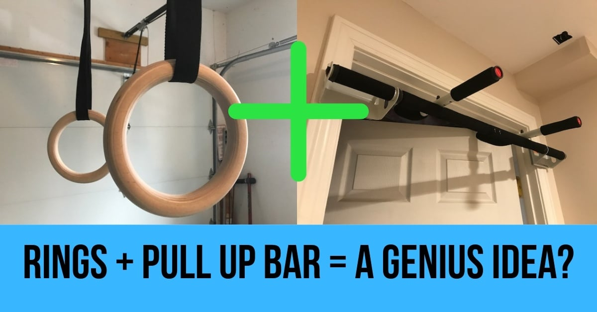 gymnastic rings on a door frame pull up bar? a few things to consider\u2026rings pull up bar